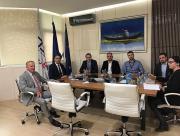 The Minister of Economy of the Sarajevo Canton Dr. Muharem Šabić visited  Ećo Company